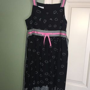 Other - Teen dainty pink and black dress